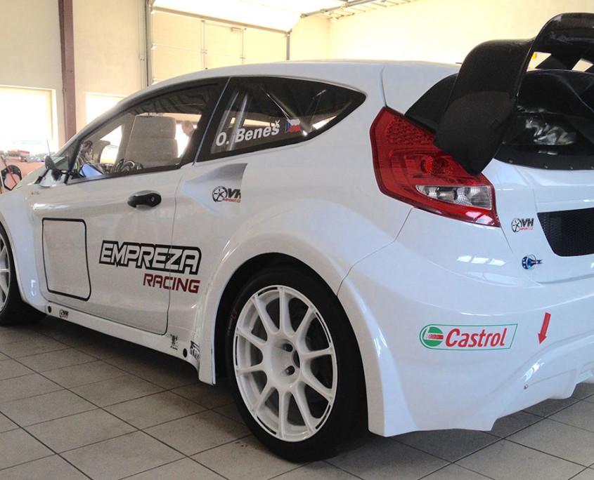 Fiesta Empreza Racing