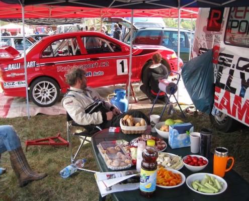 Historic Rallye Kramolín 2015