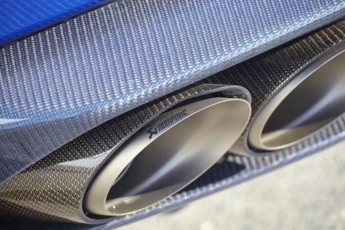 Lamborghini Huracan LP610-4 / výfuk Akrapovič (exhaust Akrapovič)