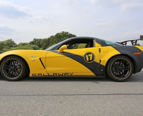 Okruhy s Corvette Z06