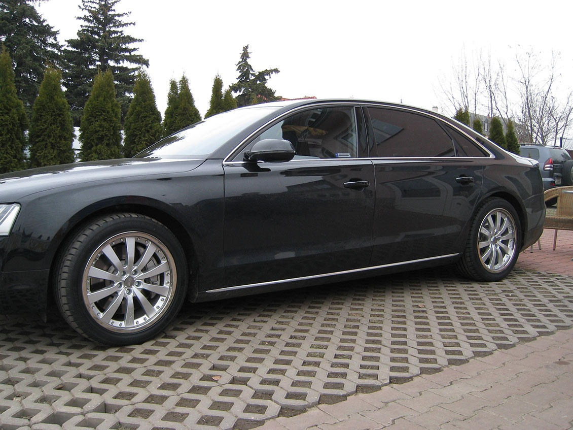 Audi A8 + Michelangelo II PL 8,5×20 a 10×20