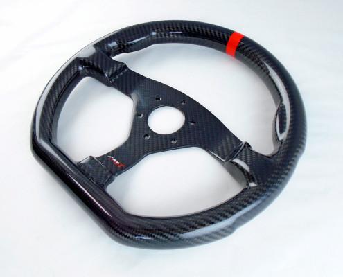 Carbonový volant (váha cca 300g)