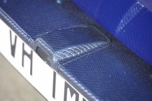 Lamborghini Huracan LP610-4 / exteriér: barevné carbon díly – černé a modré vlákno (exterior: color carbon components – black and blue fiber)
